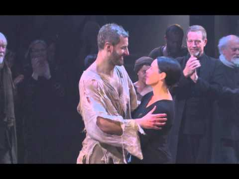 Richard Armitage The Crucible Curtain Call with Director Yael Farber
