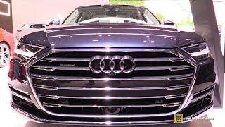 2019 Audi A8L Quattro - Exterior and Interior Walkaround - 2019 NY Auto Show