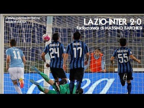 LAZIO-INTER 2-0 - Radiocronaca di Massimo Barchiesi (1/5/2016) da Rai Radio 1