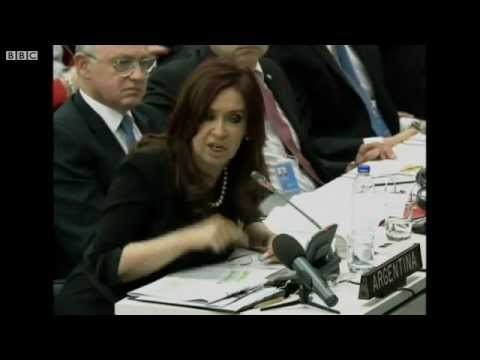 "Argentina President Fernandez: ""How Can Falklands Be British?"""
