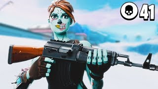 41 Kill Solo vs Squads! Tied NA World Record (INSANE ENDING)
