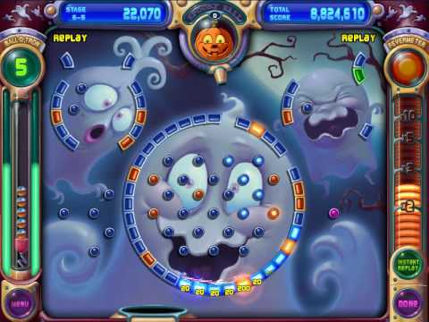 Peggle Extreme Slide Peggle Deluxe 6-5 Slide