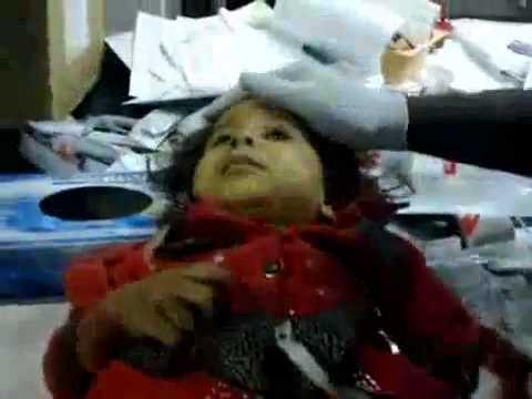 [+18 Warning] Sirte, 25-09-2011: NATO massacres Baby in Libya
