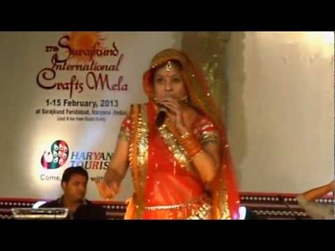 Dil Mera Muft Ka Live by MALINI AWASTHI in Soorajkund Mela Feb...