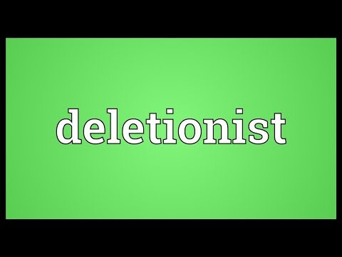 Header of deletionist