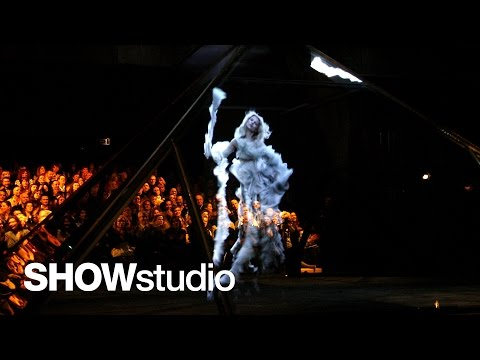 SHOWstudio: Subjective - Kate Moss interviewed by Nick Knight about Alexander McQueen A/W 2006