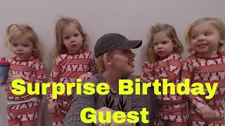 THE GIRLS FIND OUT WHO THEIR SPECIAL VISITOR WILL BE AT THE BIRTHDAY PARTY