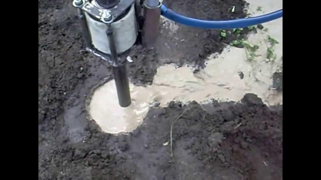Гидробурения скважин на воду своими руками