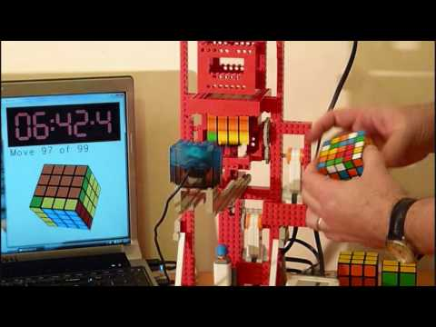 Watch LEGO MultiCuber Relay Solve
