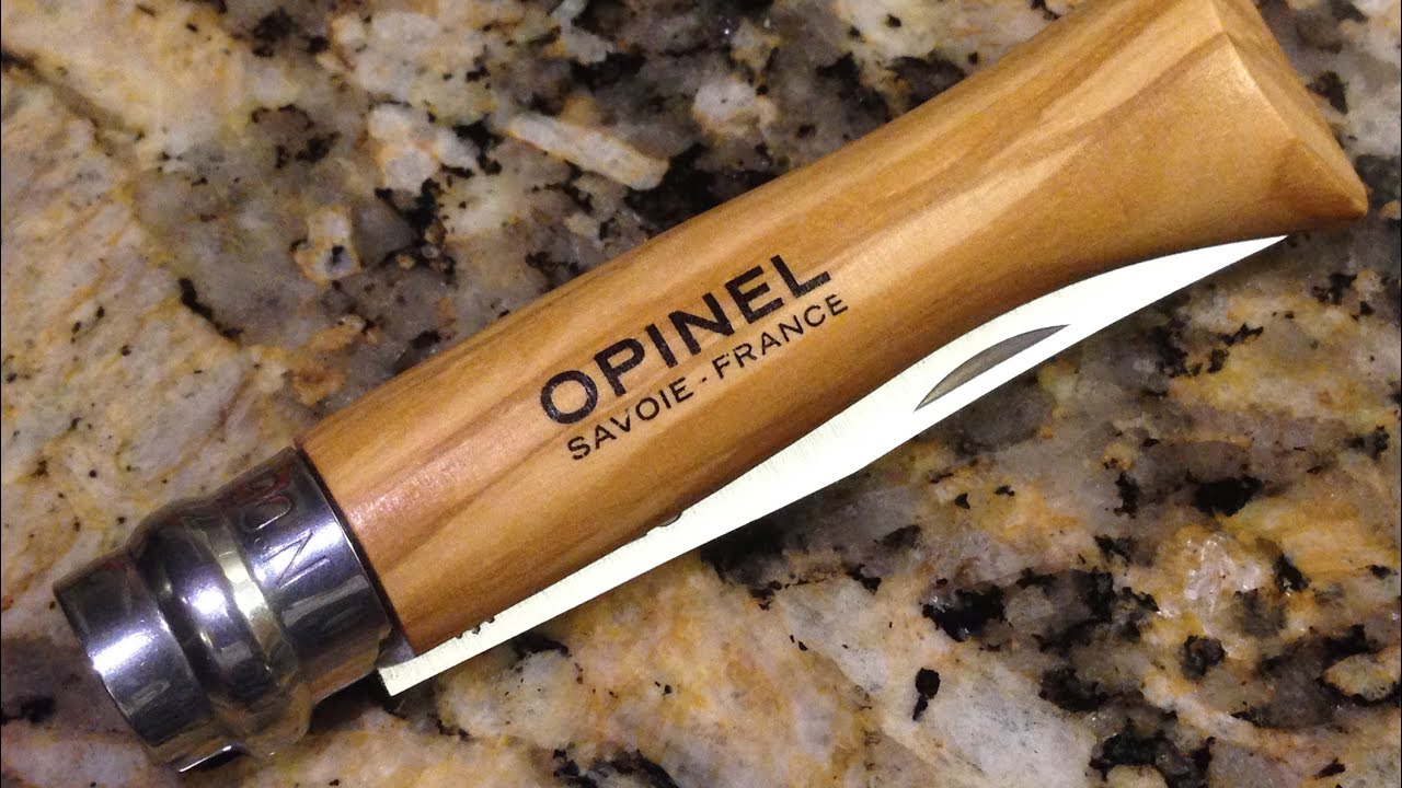 Opinel no 6 vs 8 Opinel 6 Box Opening And