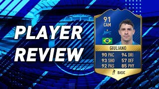 TOTS GIULIANO (91) REVIEW!: w/ GAMEPLAY! | FIFA 17
