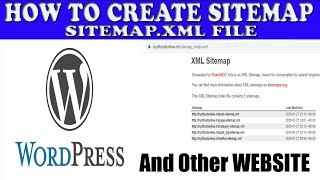 How to Create an XML Sitemap | Register a Sitemap with Google | Hindi