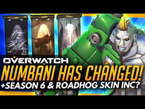 Overwatch | NUMBANI HAS CHANGED! + Season 6 Start & Roadhog Skin Coming?