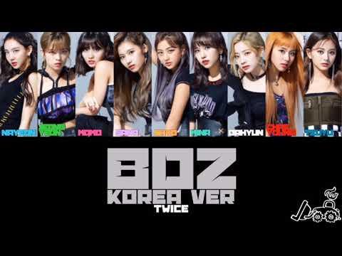 【カナルビ】BDZ Korea Ver/TWICE/ブルドーザー 韓国語ver/트와이스/トゥワイス/日本語訳/かなるび/歌詞/パート