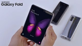 Samsung Galaxy Fold - HANDS ON Video