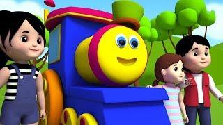 Bob o trem   Sobre as montanhas   rima de berçário   crianças rimas em português   Over The Mountain