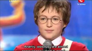 Harry Potter on Ukraine Got Talent (translated to English)