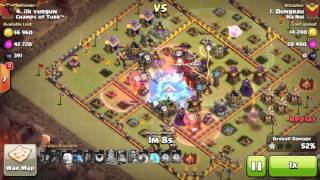 Clash of Clans Grand Warden level 2 clear hall 10 max 3 star