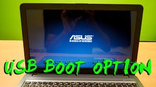 How to install Windows 10 on Asus X540 Laptop - Enable USB Boot in Bios Settings