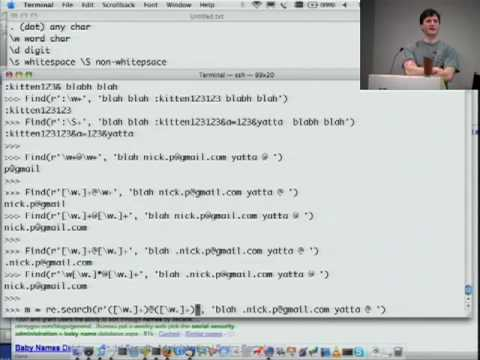 Google Python Class Day 2 Part 1
