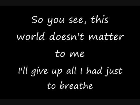 Secondhand Serenade | A Twist In My Story +Lyrics