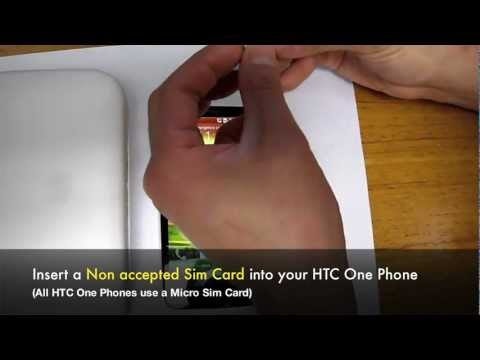 How to Unlock HTC One (S. V. X. X+. XL) Network by Unlock Code Pin At&t. Rogers. T-Mobile. Bell. O2