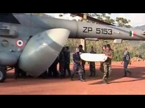 On Board An Indian Air Force Chopper Mission In Earthquake-hit Nepal video