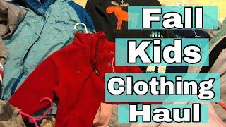 Kids Fall Clothing Haul 2018