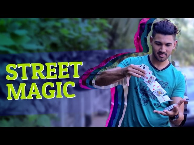 Street Magic in India
