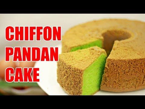 Cara Mudah Membuat Chiffon Pandan Cake - Cakes #30