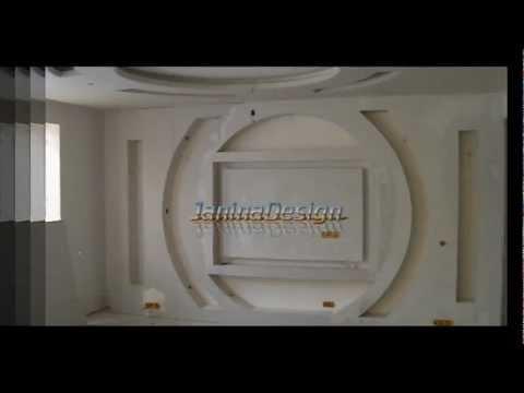 Design interior Living — gips carton (rigips) JaninaDesign