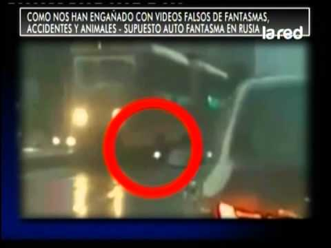 Videos falsos de fantasmas, accidentes y animales