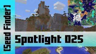 Savanna Mountain Spawn [sZPeddy's Minecraft Seed Finder] 025