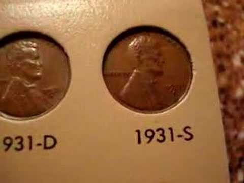 Complete Lincoln Cent Collection with Keys and Varieties.