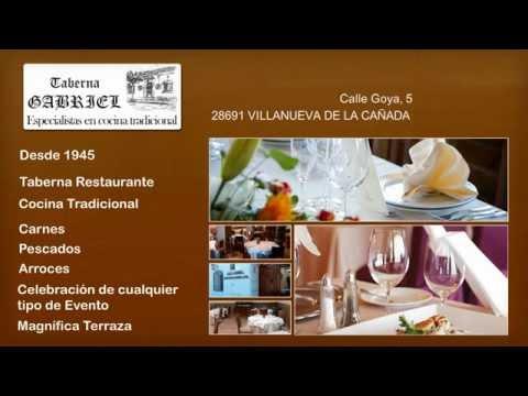 Taberna Restaurante en Villanueva de la Cañada, Madrid, Taberna Gabriel
