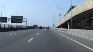 Ville Marie Expressway (Autoroute 720) westbound [ALTERNATE TAKE]