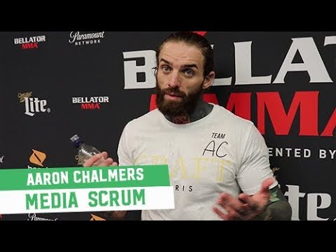 Bellator 200 Open Workouts: Aaron Chalmers Media Scrum