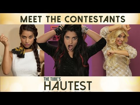 The Tube's Hautest - Meet The Contestants    I Love Makeup. video