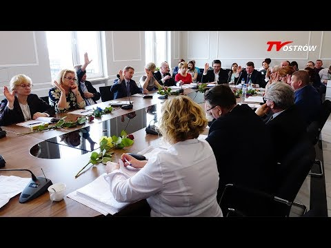 XXX Sesja Rady Powiatu Ostrowskiego 8.03.2018 thumbnail