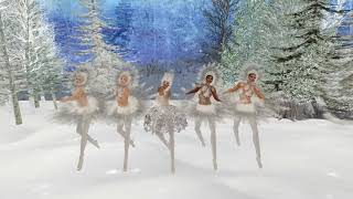 Taema   Dance of the SnowFlakes   Mynx Dance Company Nutcracker Ballet 9 Dec 2017