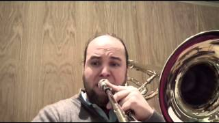 Richard Wagner Siegfried 3th Act contrabass trombone excerpts