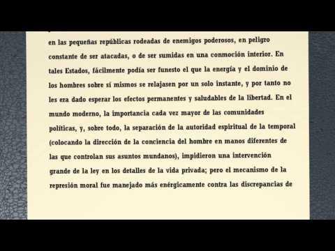 Sobre la Libertad - John Stuart Mill (parte 1)