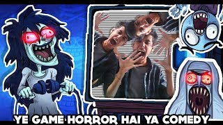 YE GAME HORROR HAI YA COMEDY || FUNNY ANDROID GAME IN HINDI || TROLL QUEST HORROR | beastboyshub
