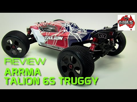 Review: ARRMA Talion 6S 4WD 1/8 Scale Truggy