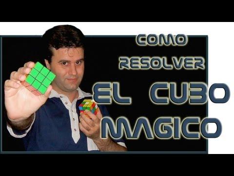 Como resolver el cubo mágico (Cubo Rubik)
