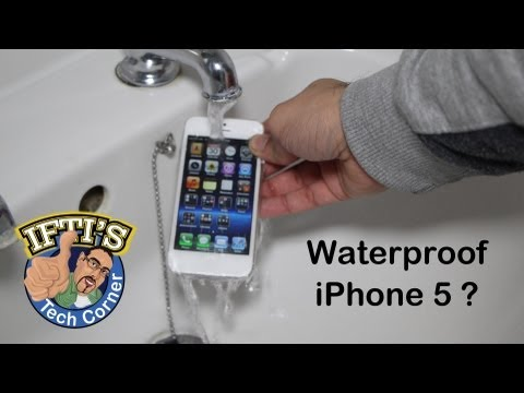 Making the iPhone 5 or 5s Waterproof!