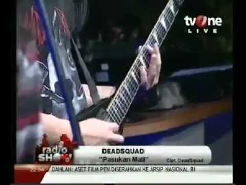 Deadsquad - Pasukan Mati radioshow tvone video