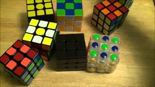 Non-Cuber looks at my Cube Collection (Comedy)