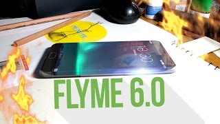 Meizu Pro 7. Flyme 6.0 - немного об этом...