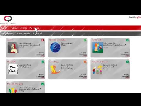 Crea TV Place - Plataforma de promoción y registro de formatos de televisión